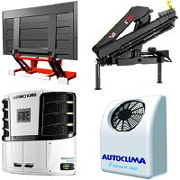 Хладилни агрегати | Падащи бордове | Кранове за камиони