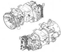GRS895R автоматична ск. кутия от SCANIA R440 , EURO 5, 2008 г.