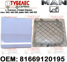 Капак кутия инструмент на MAN TGA 81669120195