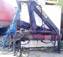 Кран за камион PALFINGER PK 8080 A