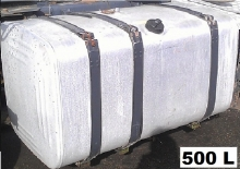 Алуминиев резервоар 500L за Scania