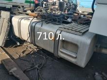 Алуминиев резервоар 710 л. на MAN TGA мега