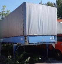 БДФ каросерия Кьогел - 2 бр. / 7.50m x 2.50m x 2.50m