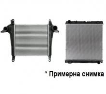 Воден радиатор интеркулер за Man Tgl 4.6D, 2006г. Евро3