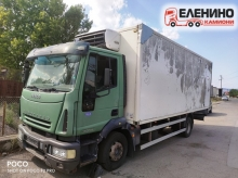 Iveco Eurocargo 120E24, 240к.с. Евро3, 6цил. хладилен фургон