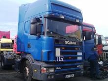 Scania R124L 470  2001г. на части