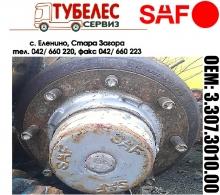 Главина SAF за полуремарке с 8 болта 3307301000 3.307.3010.00