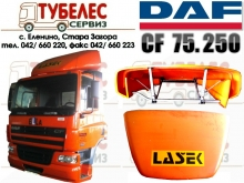 Спойлер горен на кабина на DAF CF 75.250
