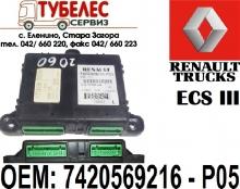 Електронен блок ECS III за Renault Magnum DXI 7420569216