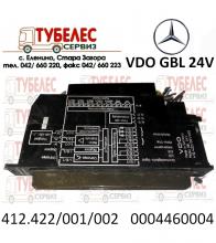 Електронен блок Modul VDO GBL за Мерцедес 412422001002 000446000