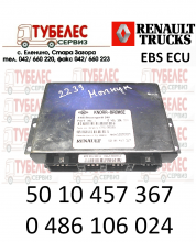 Електронен блок Knorr-Bremse EBS за Рено 5010457367 0486106024