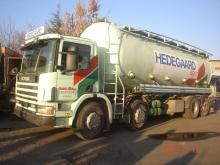 Фуражовоз ( цистерна ) Scania 124 C360  8x2
