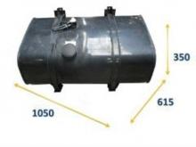 Железен резервоар 200 л 350x1050x615 на MAN