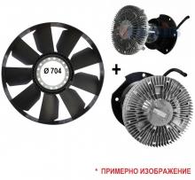 Виско съединител и перка за Iveco Stralis Cursor 13, 480кс, E3