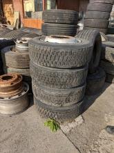4бр. джанти с гуми регенерат Fulda 295/60R22.5