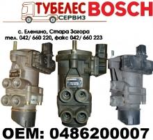 EBS BOSCH / Knorr Bremse главен спирачен кран MAN TGA 0486200007
