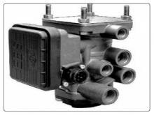 EBS Knorr Bremse  спирачен кран модулатор ремарке  MAN TGA