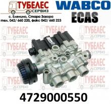 ECAS Eлектромагнитен клапан / кран WABCO 4729000550