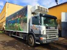 SCANIA P94 Хладилен фургон НА ЧАСТИ