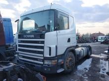 Scania 124L, 2002г. HPI 470кс, ЗА ЧАСТИ