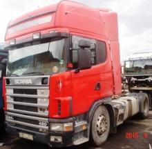 Scania R124 на части