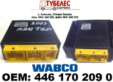 WABCO Ecas електронен блок за MAN TGA 4x2 4461702090 81258117013