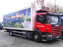 Скания  P94  2003 г. хладилен фургон
