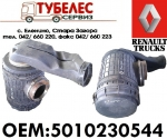 Корпус въздушен филтър Renault Midlum 5010230544