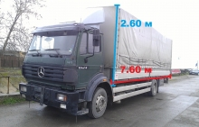 Каросерия Mercedes 1624 7.60м x 2.60м