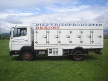 Хладилен фургон от Mercedes 814