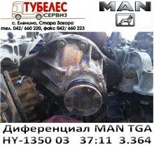 Диференциал / редуктор HY-1350 03 37x11  3.364 за MAN TGA