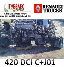 Двигател / мотор 420 DCI C+J01 от Рено Премиум 2004 г.