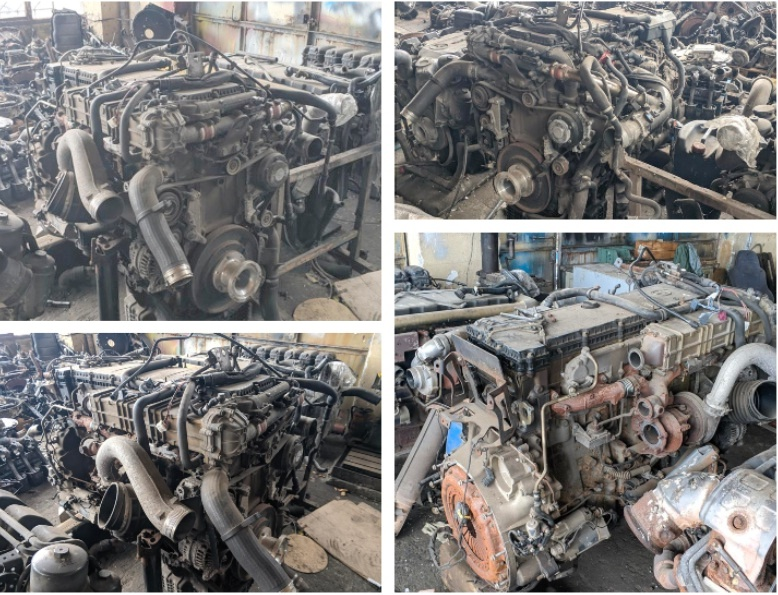 OM471LA 471.909 Engine Mercedes Actros 1845LS 330kw-450ps Euro6 2012 MP4 EEV common rail engine