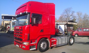 Scania Скания 124 420 2001г. Тубелес Сервиз Автоморга Автоборса за камиони с. Еленино eleninotruckparts