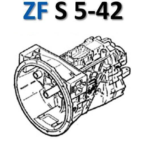 ZF Ecolite S542 DAF 45 GEARBOX TRANSMISSION