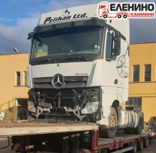 Mercedes Actros 1845LS, E6, MP4, 2014г. на части