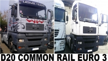 MAN TGA 18.430 D20 Common Rail Euro 3