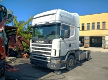Scania 164, V8 480кс 2001г. ръчка, ретардер на части