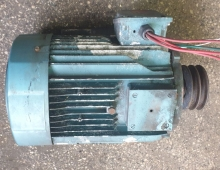 Ел. мотор LS132M, трифазен 9kW за хладилен агрегат Carrier